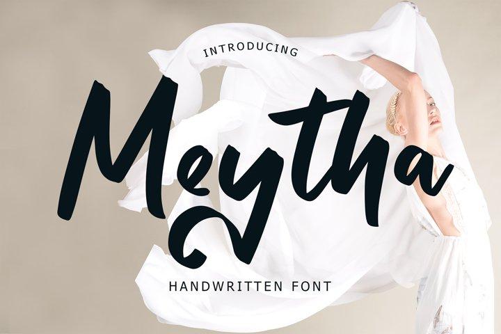 Metyha Handwritten Font