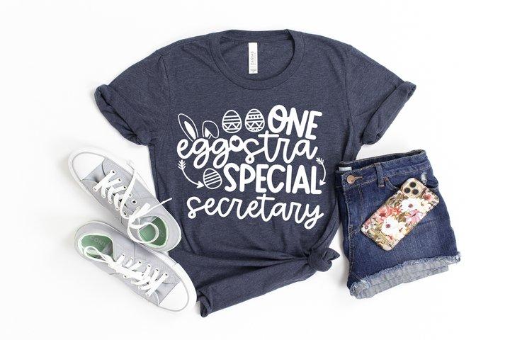 One Eggstra Special Secretary SVG FILE