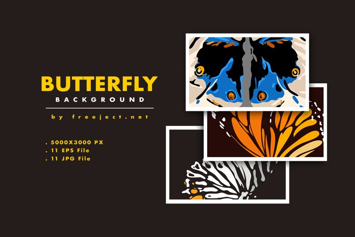 Butterfly Texture background