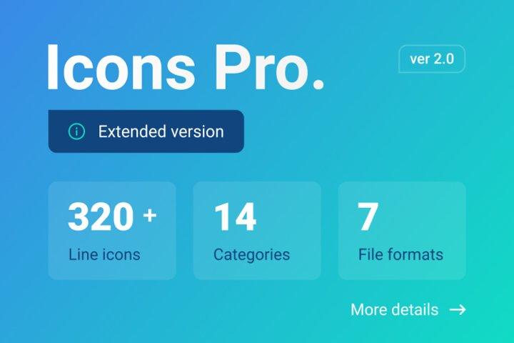 Icons Pro
