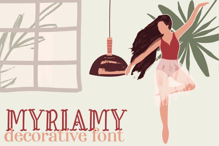 Myriamy Font