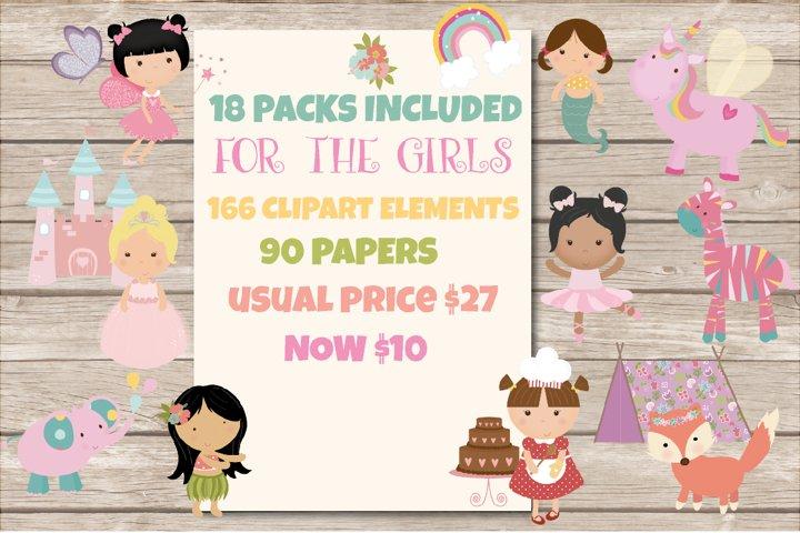 mega girls bundle