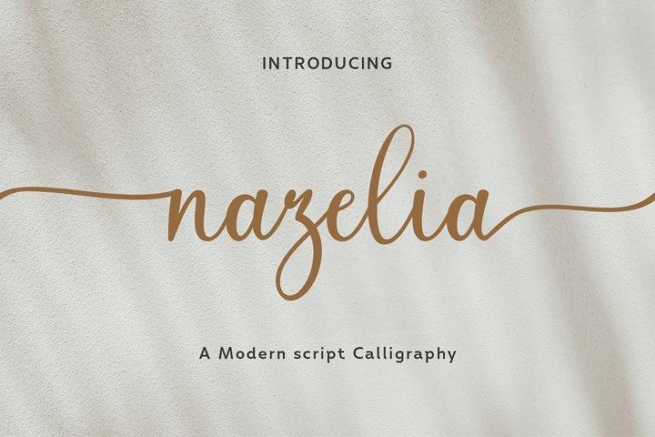 Nazelia Modern Script! WebFont