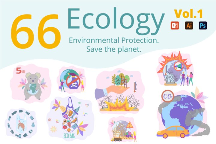 Environmental protection concept. Save the planet. Ecology