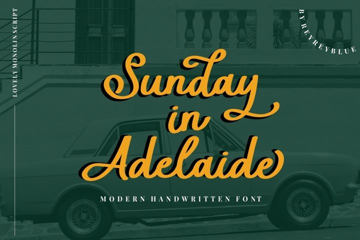 Sunday in Adelaide