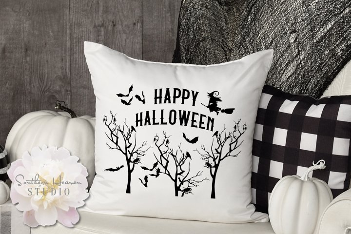 HAPPY HALLOWEEN - SVG, PNG, DXF and EPS