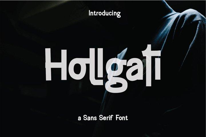 Hollgati Font