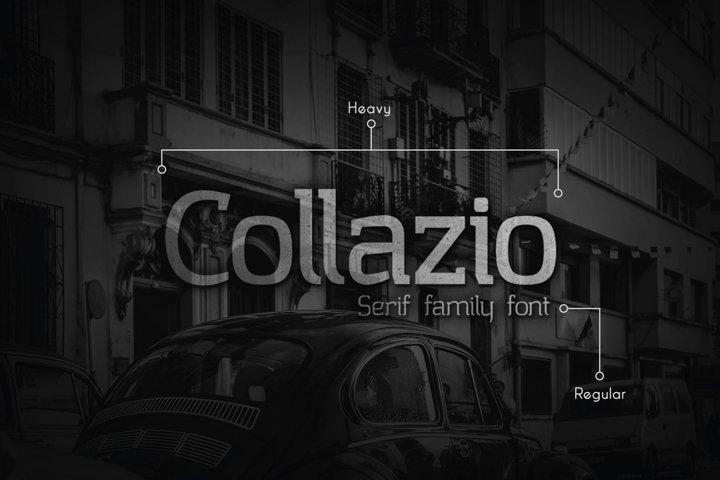 Collazio Serif Family Typeface