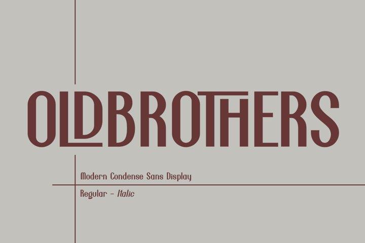 Oldbrothers Condense Sans