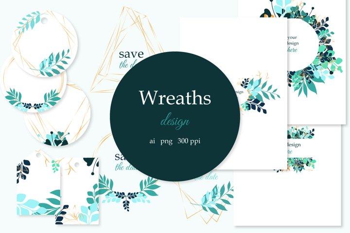 Wreaths design