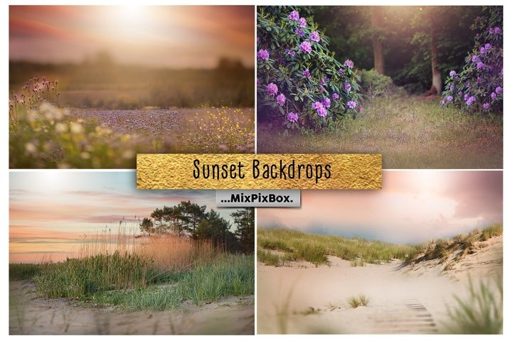 Sunset Backdrops