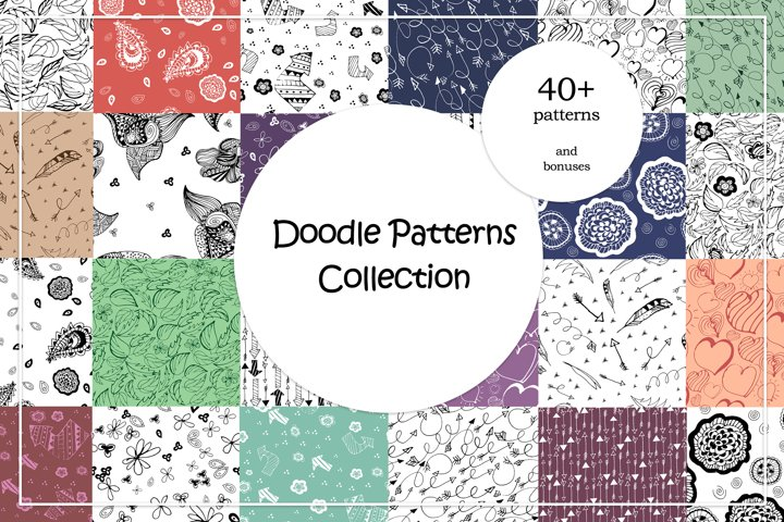 Doodle Patterns Collection