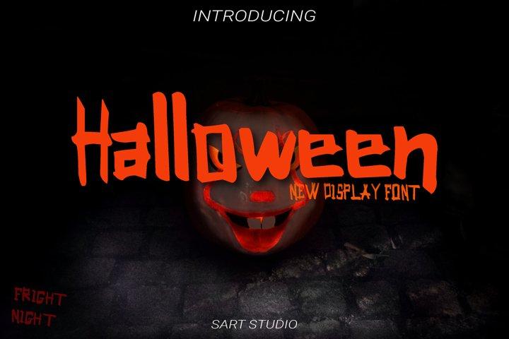 Halloween Display Font