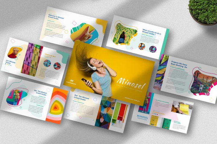 Minosel Powerpoint Template