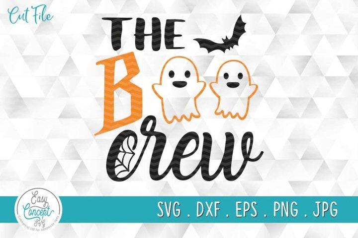 The Boo Crew Svg, Kids Halloween Svg