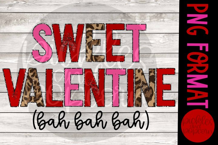 Sweet Valentine Bah Bah Bah