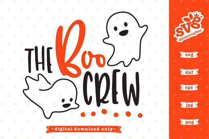 Halloween SVG file | The Boo Crew SVG design