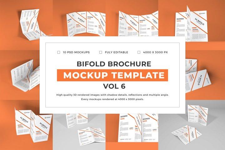 Bifold Brochure Mockup Template Bundle Vol 6