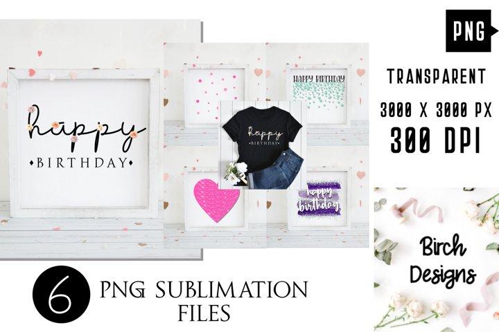 Fun Birthday Bundle PNG Sublimation Designs