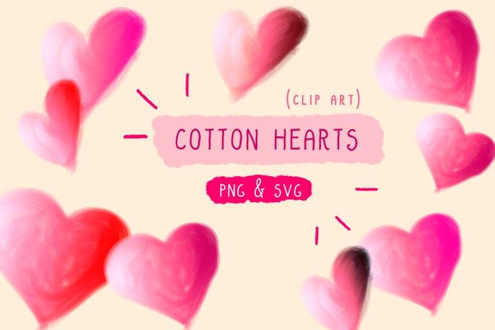 Heart Valentine SVG Sweet Cute Clip Art Illustrations Hearts