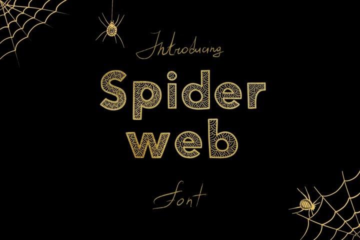 Spider Web Font