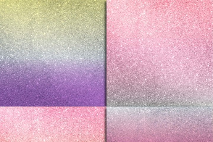 Glitter Ombre Digital Paper - Free Design of The Week Design0