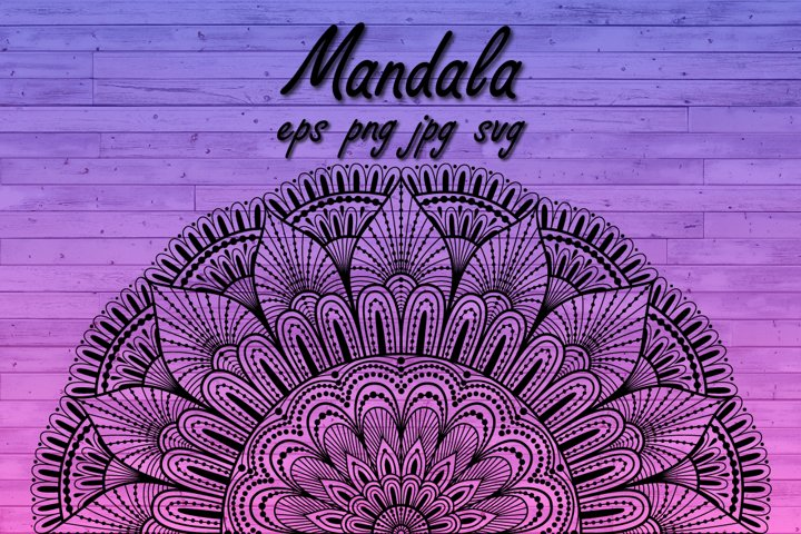 Mandala SVG,zentangle,mandala sublimation t shirt,PNG
