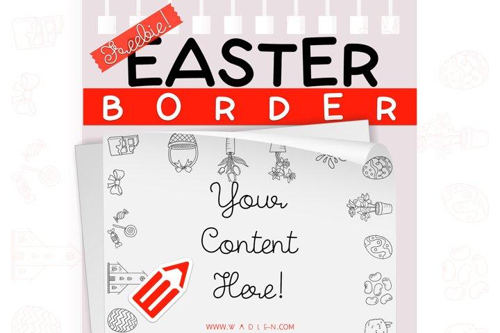 Easter - Border Template