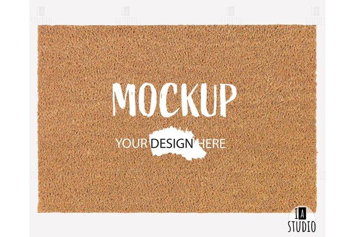 Doormat Mockup / Flat Lat Product Mockup / Styled Mockup
