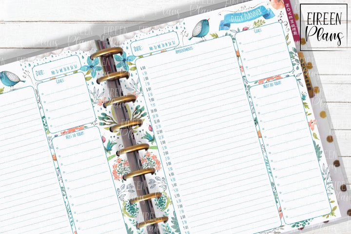 Appointments Daily Printable for Classic Happy Planner