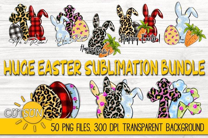 Easter Sublimation Bundle | 50 PNG files