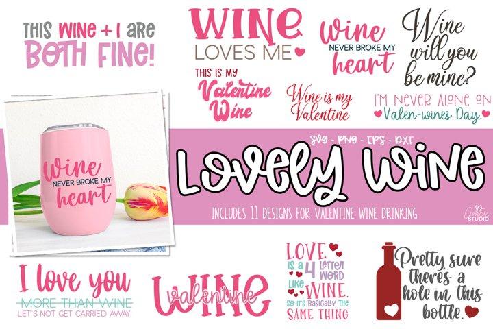 Valentine Lovely Wine Bundle - Wine Bundle