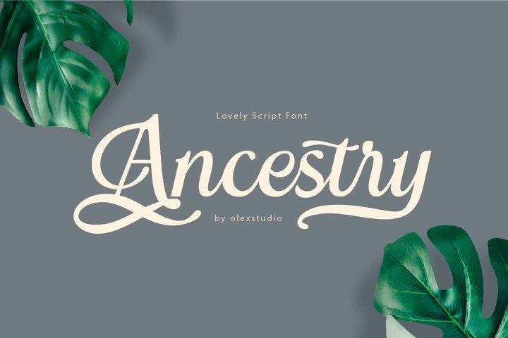 ANCESTRY script