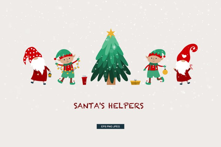 Santas helpers/gnomes&elves