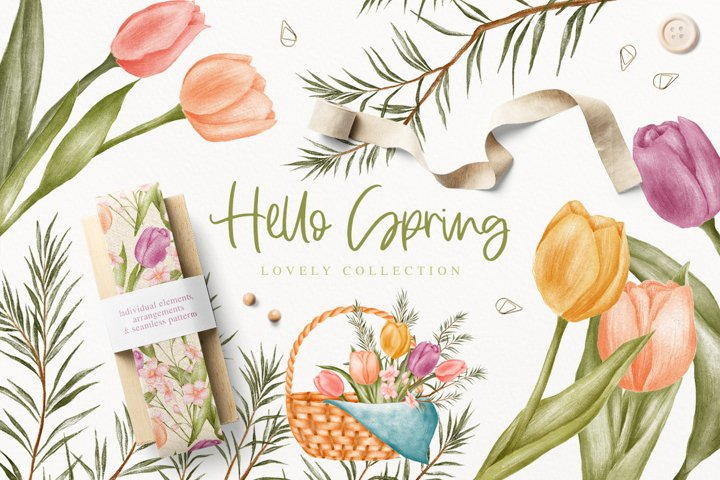 Hello Spring Lovely Collection