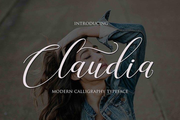 Claudia Script | WEB FONT