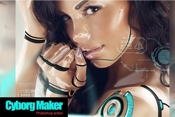 Cyborg Maker PS Action