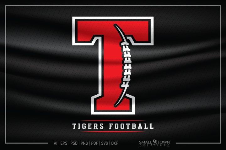 Tiger, Tiger Football, Tiger Mascot, Football svg, Tiger svg
