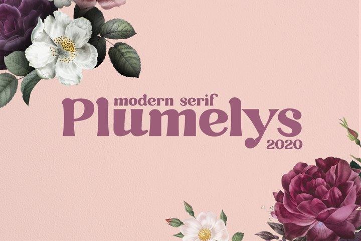 Plumelys Modern Serif
