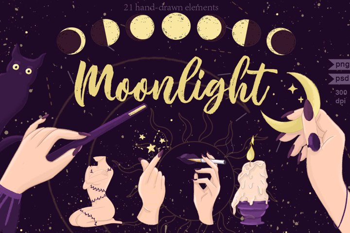 Moonlight Magic Art