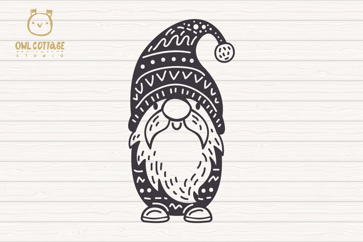 Scandinavian Gnomes SVG, Gnome Clipart, Tomte example 1