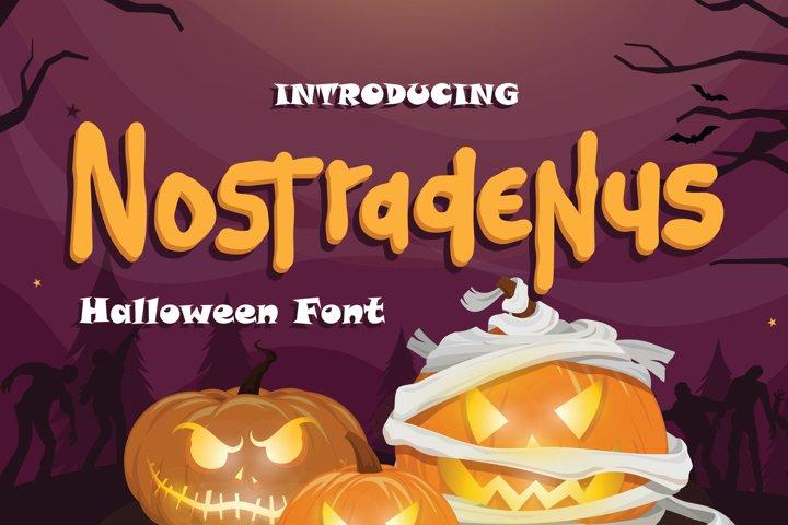 Nostradenus - Halloween Font