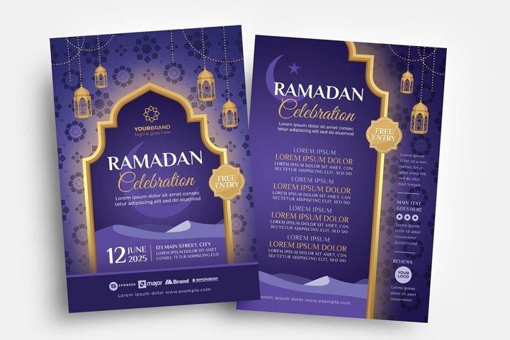 Ramadan Flyer Template