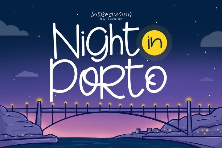 Night in Porto