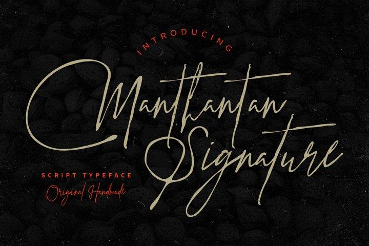 Manthantan Signature