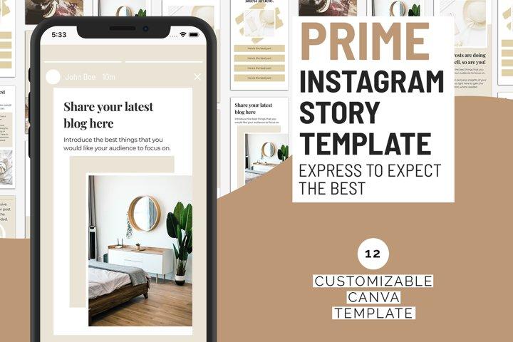 Prime Instagram Story Template