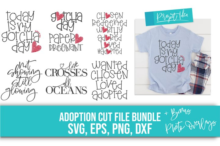 Adoption Bundle- SVG, EPS, DXF, PNG