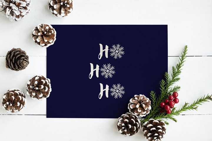 Christmas and New Year Greeting Card Printable