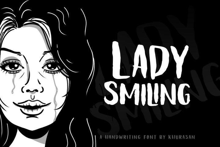 Lady Smiling