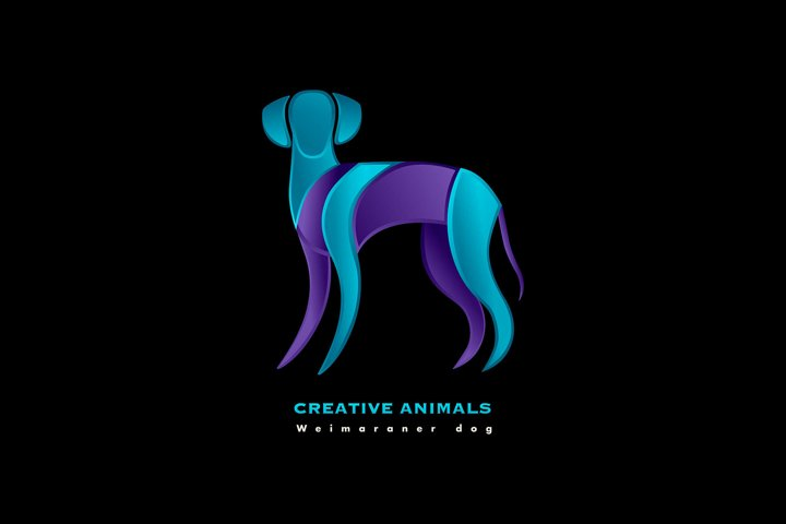 Dog Vector Template, Logo